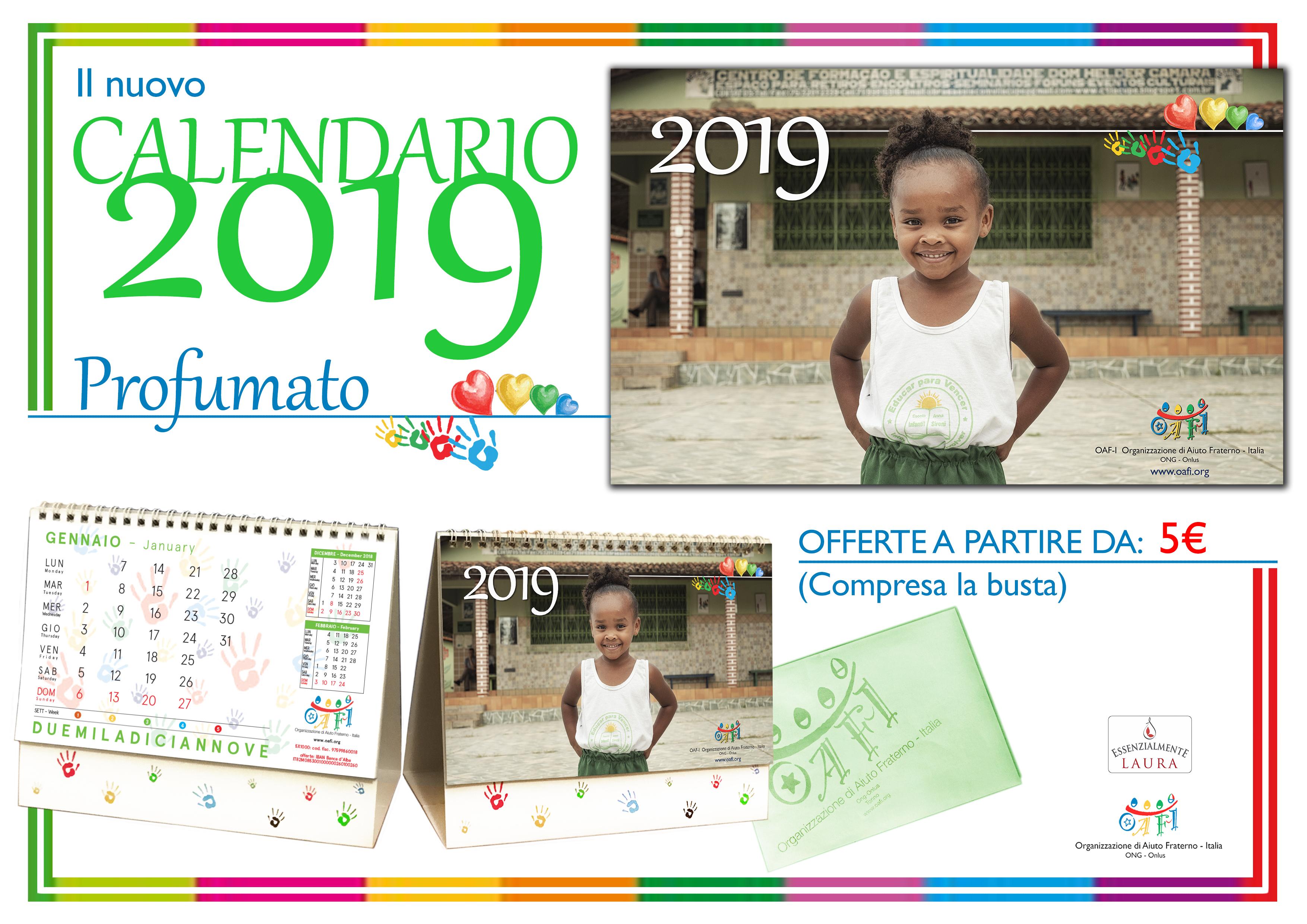 Calendario Laura.Calendario Profumato Oaf I